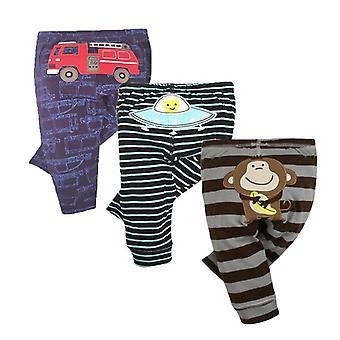Pantalons de bébé de mode, le leggings nouveau-nés de printemps et d'automne de coton