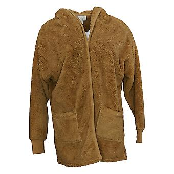Koolaburra By UGG Women's Cardigan Cozy Plush W/ Rib Detail Brown A386142