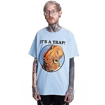 Star Wars Unisex Adult It Is A Trap T-Shirt