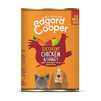 Can for Chicken and Turkey Dogs 400 g