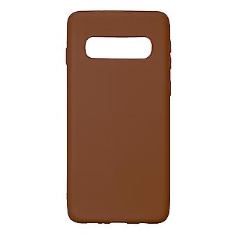 Ultra-Slim Case compatible with Samsung Galaxy S10 | In Brown |