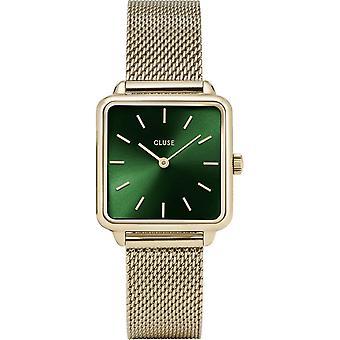 Cluse CW0101207013 Women's La Tétragone Gold Tone Wristwatch