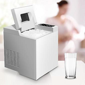 Kleine kommerzielle automatische Eismaschine Haushalt Eiswürfelmaschine (220)