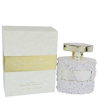 Bella Blanca Eau De Parfum Spray par Oscar De La Renta 3.4 oz Eau De Parfum Spray