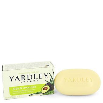 Yardley London Soaps Aloe & Avocado Naturally Moisturizing Bath Bar By Yardley London 4.25 oz Aloe & Avocado Naturally Moisturizing Bath Bar