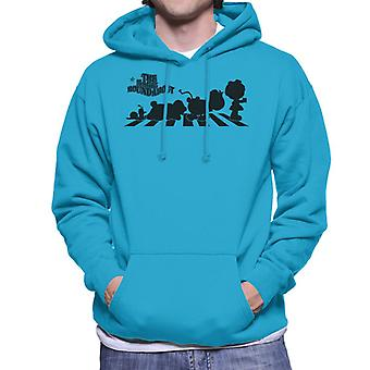 The Magic Roundabout Characters Silhouette Men's Hooded Sweatshirt