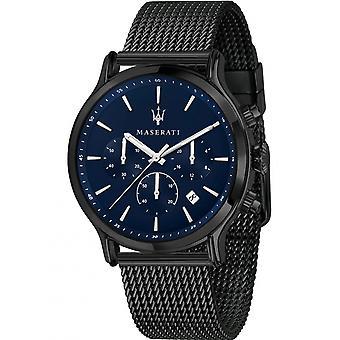 Reloj de hombre Maserati R8873618008, Cuarzo, 42mm, 5ATM