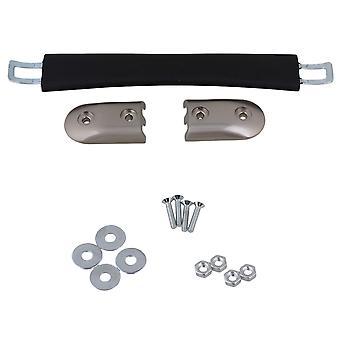 Koffer Bagage Flexibel Plastic 16.5cm Reserve Riem Draaggreep Grip