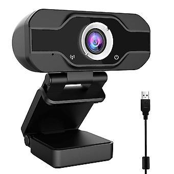 HD-webkamera med innebygd (svart)