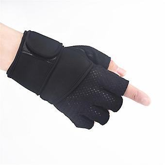 Mænd, Kvinder Gym Handsker, Håndvægte Workout, Wrist Support, Anti-slip, Fitness