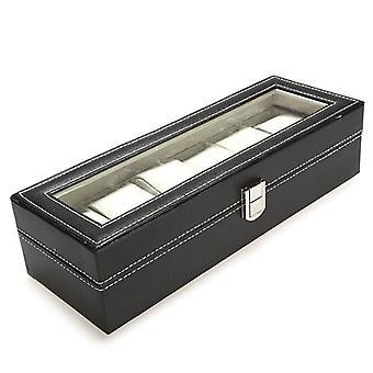 Watch Storage Case Window Organizer Box