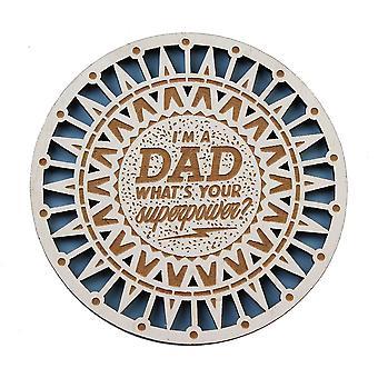 History & Heraldry Dad Coaster