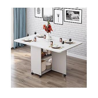 Luova kiinteä, puutaittoinen ruokapöytä - Olohuoneen keittiöpöytä