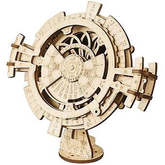 FengChun Perptuel Kalender modle bastelset holzbausatz - 3D Puzzle Modellbau Baukasten Holz - mdchen