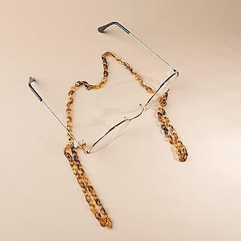 Leopard Acrylic Sunglasses Chain, Eyewears Glasses Holder Cord's