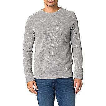 Tom Tailor T-Shirt, 11087/Middle Grey Melange, XX-Large Men