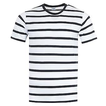NN07 Aspen Striped Sustainable Tencel T-Shirt - Blue & White