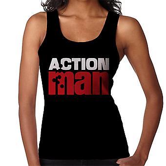 Action Man Red Logo Women's Vest