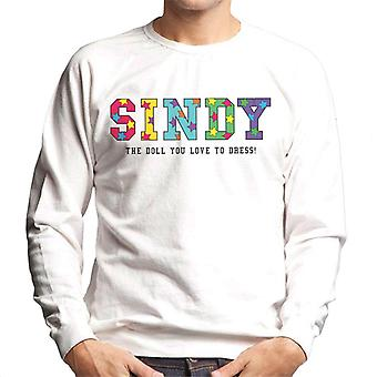 Sindy The Doll You Love To Dress Men's Sweatshirt