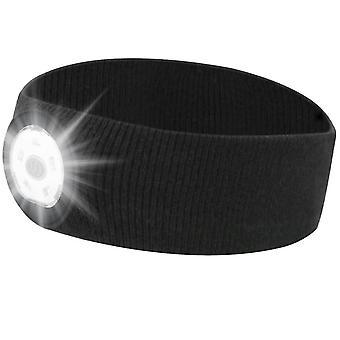 3 Mode ajustável bandana esportiva, noite ao ar livre executando led iluminação headband az8451