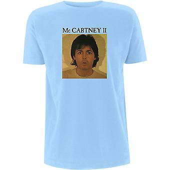 Paul McCartney - McCartney II Men's X-Large T-Shirt - Light Blue
