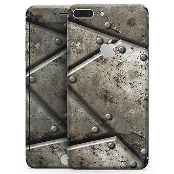Placas de roubo aparafusadas V2 - Kit de pele para o Iphone 8 ou 8 Plus