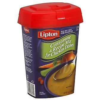 Lipton - Kosher Consomme Mix Chkn Parve, Case of 12 X 14.1 Oz
