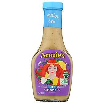 Annie's Homegrown Drssng Goddes Lite, Case of 6 X 8 Oz