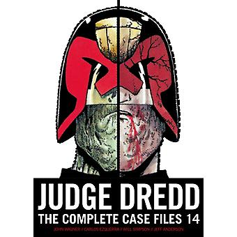Judge Dredd The Complete Case Files 14 by John Wagner & Alan Grant & Illustrated by Will Simpson & Illustrated by Carlos Ezquerra & Illustrated by Jeff Anderson