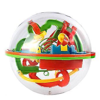 100 poziomów Wyzwanie Orbit Maze Ball Gra 3D Maze Ball Zabawki edukacyjne Magic Maze Ball