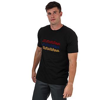 T-shirt Dickies Hommes Kings Bay pour hommes en noir