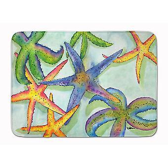 Tappetino Caroline's Treasures Starfish, 19 X 27, Multicolor