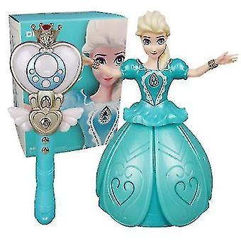 Télécommande infrarouge pour enfants éblouissante princesse poupée, danse et chantant poupée avec lumière