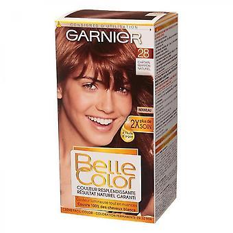 Garnier Belle Color - Color N  28 - Natural Brown Chestnut
