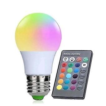 Távirányító cserélhető RGB Led reflektor izzó 3w