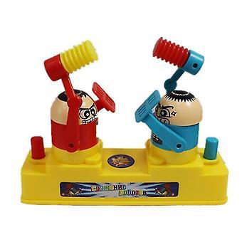Forælder / Barn Double-player kamp Spil Spil Legetøj (rød og blå)