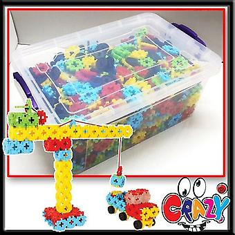Matrax Crazy 1000 Pieces Toy in Plastic Box , Colorful , Develop Skills