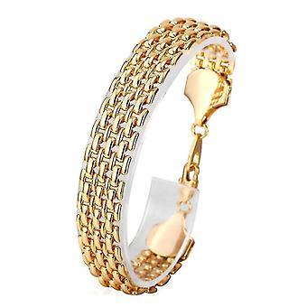 U7 linked bracelet-Gold