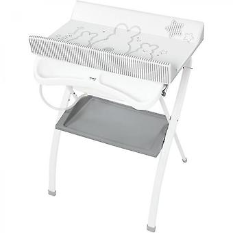 Lapinou Pearl Gray Folding Table