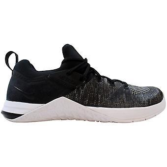 Nike Metcon 3 Flyknit Negro/Mate Plata/Blanco/Negro AR5623-001 Femenino