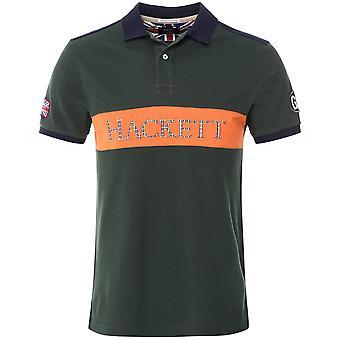 Hackett Begränsad Upplaga Bröstpanel Polo Shirt