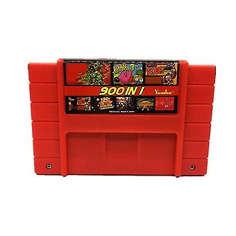 900 In 1 Super Remix 16 Bit Game Card For Consoles