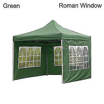 新しいアウトドアパーティー防水オックスフォード布テントガゼボアクセサリー耐候性キャノピーカバー(緑)