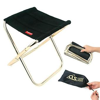 Mini Outdoor Foldable Chair Portable Beach Fishing Stool Camping Picnic Seat