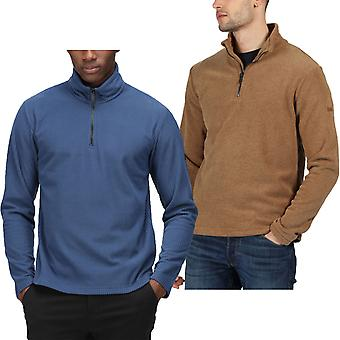 Regatta Herren Edley 1/4 Zip Warm Winter Outdoor Pullover Fleece Pullover Pullover