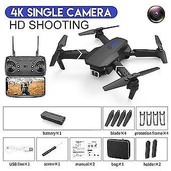 Mini dron profesjonalna fotografia lotnicza wifi fpv gps 4k hd podwójna kamera wysokość przytrzymaj quadcopter