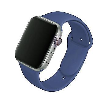 gummi sport armbånd armbånd - silikon stropp for apple watch band