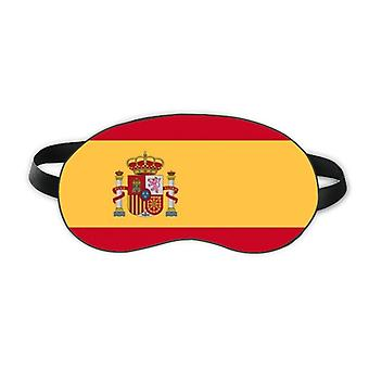 إسبانيا العلم الوطني أوروبا البلد النوم درع العين