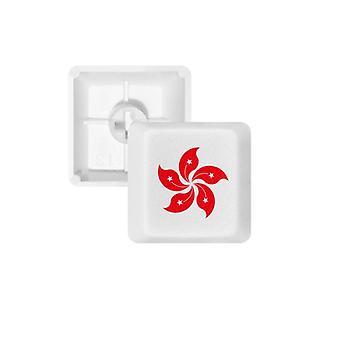 Red Flower Keycap Keyboard