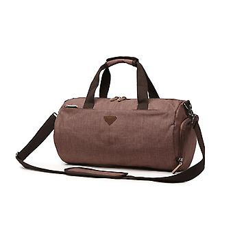 Waterproof Travel Bag With Water-repellent Material, Fashion Handbag, Luggage Bag, Leisure Size Dual-use Bag